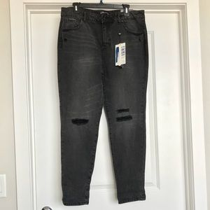 Denim - Miss Poured high waisted ankle jeans